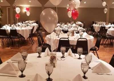 banquet setup 2