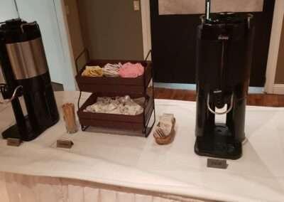 coffee station setup 2