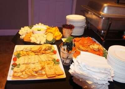 hors d'oeuvres Setup 3