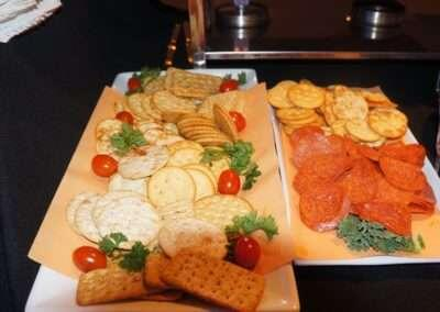 hors d'oeuvres setup 2